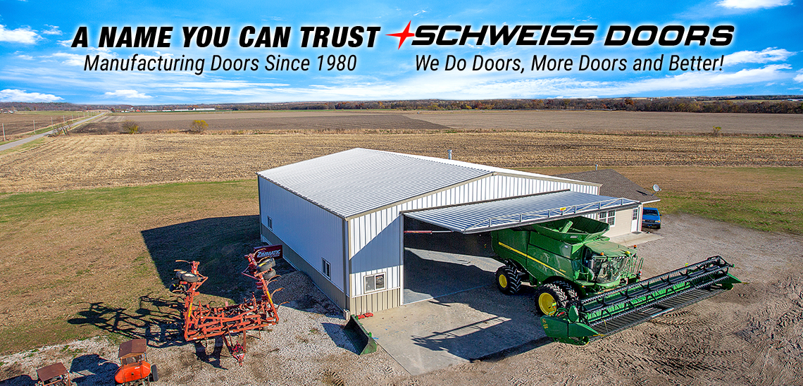 A name you can trust, Schweiss Doors